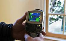 Infrared Energy inspection as part of house energy audit