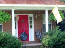 Blower door exterior